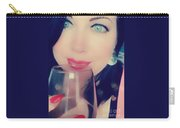 Buveur De Vin Carry-all Pouch by Rachel Maynard