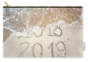 Bye Bye 2018 Welcome2019 Carry-all Pouch