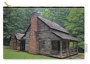 Cabin In The Woods - Fractals Carry-all Pouch