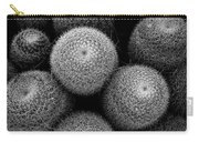 Cactus Black And White 5 Carry-all Pouch