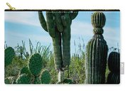 Cactus Twins Have Company Carry-all Pouch