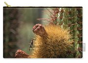 Cactus With Beetle Carry-all Pouch