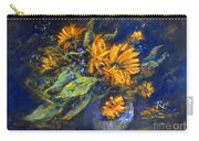Calendula Carry-all Pouch by Ryn Shell