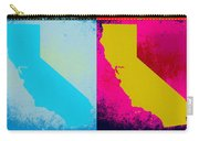 California Pop Art Panels Carry-all Pouch