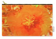 California Poppy Inside Carry-all Pouch
