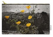 California Poppy Trying Carry-all Pouch