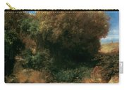 Campagna Landscape 1858 Carry-all Pouch
