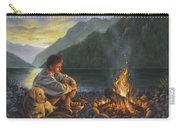 Campfire Companions Carry-all Pouch by Kim Lockman