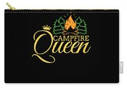 Campfire Queen Camping Caravan Camper Camp Tent Carry-all Pouch