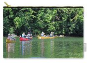 Canoeing On The Rideau Canal In Newboro Channel Ontario Canada Carry-all Pouch