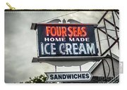 Cape Cod Four Seas Home Made Ice Cream Neon Sign Carry-all Pouch