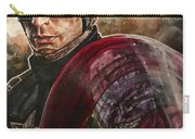 Captain America Carry-all Pouch by Joel Tesch