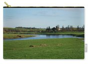 Carham Church And River Tweed Carry-all Pouch