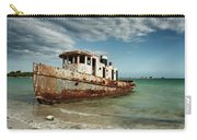 Caribbean Shipwreck 21002 Carry-all Pouch by Rick Veldman