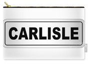 Carlisle City Nameplate Carry-all Pouch
