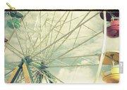 Carolina Beach Ferris Wheel Carry-all Pouch