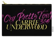 Carrie Underwood Cry Pretty 2019 Ajadcode11 Carry-all Pouch