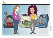 Cars Don't Tell Carry-all Pouch by Megan Dirsa-DuBois