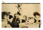 Cartoon Character Cowboys And Cowgirls Carry-all Pouch