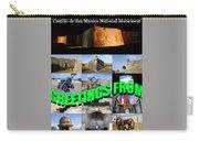 Castillo De San Marcos Custom Card Carry-all Pouch
