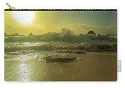 Catching The Spirit Sun Coastal Sunrise Carry-all Pouch