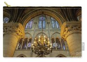 Cathedral Notre Dame Chandelier Carry-all Pouch by Brian Jannsen