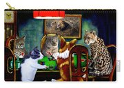 Cats Are Wild Poker Carry-all Pouch