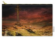 Celtic Cross Llanddwyn Island Carry-all Pouch