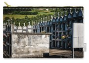 Cemetery Vaults Carry-all Pouch by Tom Singleton