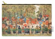 Central Park 1901 - Digital Remastered Edition Carry-all Pouch