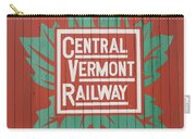 Central Vermont Railway Carry-all Pouch