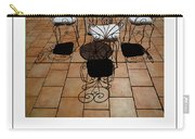 Chairs And Shadows Poster Carry-all Pouch