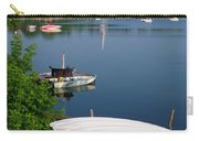 Chambly Basin And The Church Of St Joseph In Quebec Carry-all Pouch