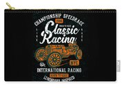 Championship Speed Race Classic Racing Carry-all Pouch