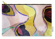 Chaotic Abstract Shapes Carry-all Pouch