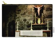 Chapel On A Rock Carry-all Pouch