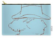 Charles Baudelaire By Edouard Manet Carry-all Pouch