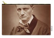Charles Baudelaire, French Poet, Portrait Photograph  Carry-all Pouch