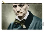 Charles Baudelaire, French Writer, Photo Carry-all Pouch