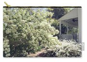 Charleston Spring Blossoms Victorian French Quarter White Hydrangea Tree - Charleston White Blossoms Carry-all Pouch