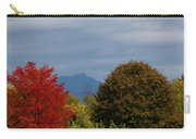 Charlotte Vermont View Of Camels Hump Carry-all Pouch