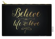 Cher - Believe Gold Foil Carry-all Pouch