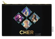 Cher - Blue Diamonds Carry-all Pouch