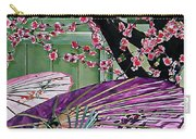 Cherry Blossom Parasols Carry-all Pouch