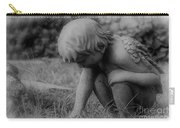 Cherub In The Grass Carry-all Pouch