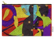 Chiang Mai Buddha Collage 6 Carry-all Pouch