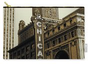 Chicago Cinema Theater - Vintage Photo Art Carry-all Pouch