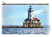 Chicago Il - Chicago Harbor Lighthouse Carry-all Pouch