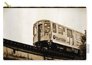 Chicago Metra Sepia Carry-all Pouch