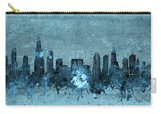 Chicago Skyline Vintage 4 Carry-all Pouch
